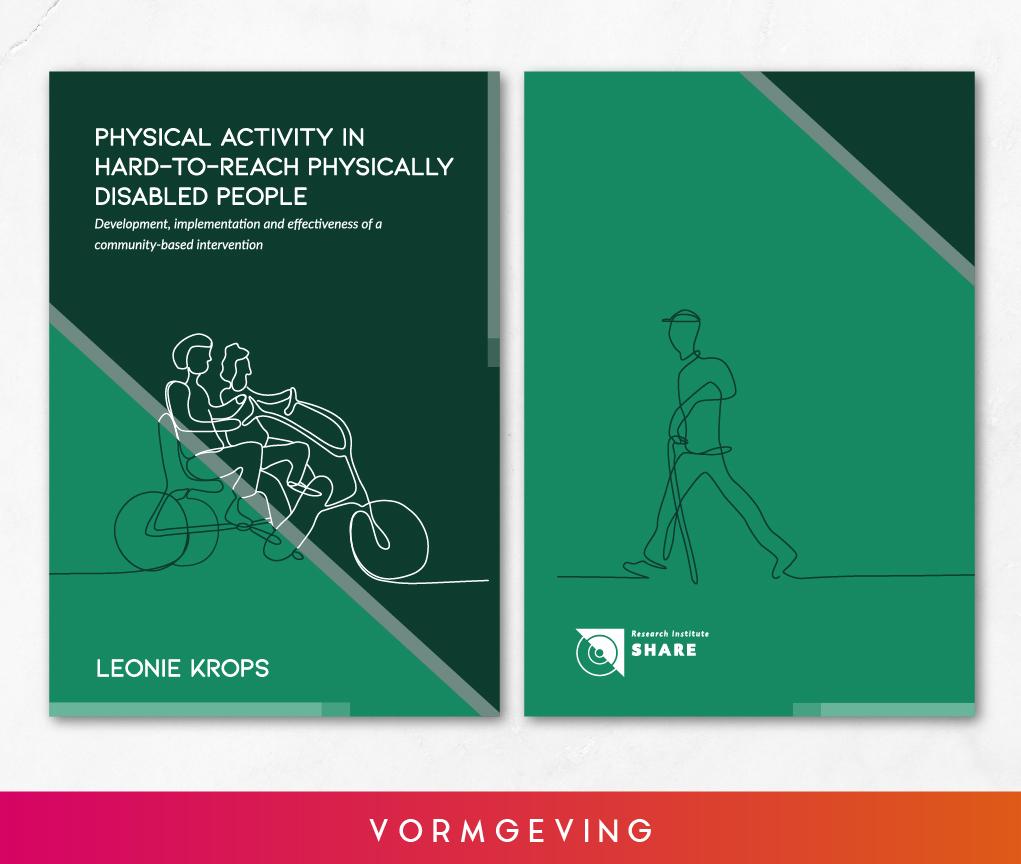 Vormgeving proefschrift Leonie Krops