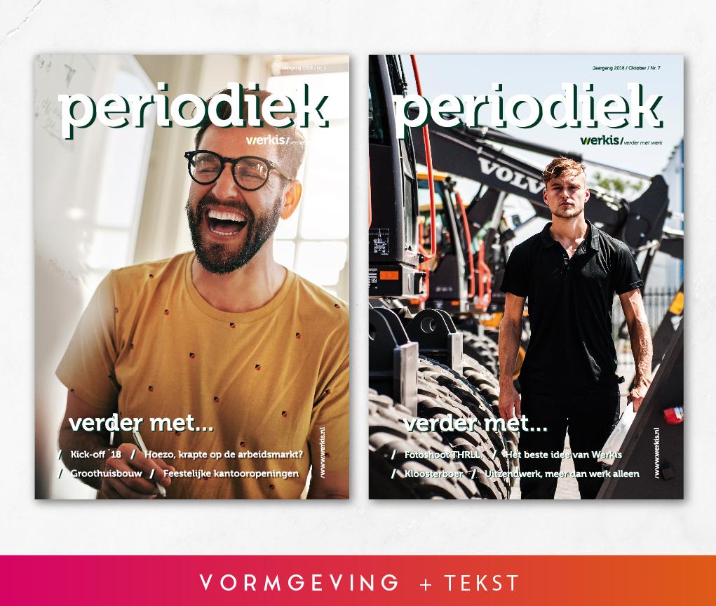 Tekstschrijver magazines